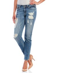 Eunina - Comfort Skinny Crop Jeans - Lyst