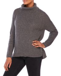 She + Sky - Speckled Sweater - Lyst