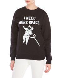 Sub_Urban Riot - I Need More Space Fleece Sweatshirt - Lyst