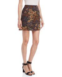 Ottod'Ame - Floral Mini Skirt - Lyst