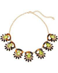 Catherine Stein - Tortoiseshell-Look & Olive Necklace - Lyst