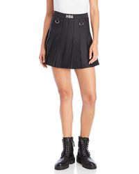 Hood By Air - Pleated School Girl Skirt - Lyst