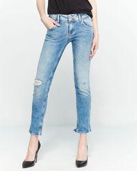 5f62614de19 Hudson Jeans - Collin Flap Pocket Skinny Ankle Jeans - Lyst