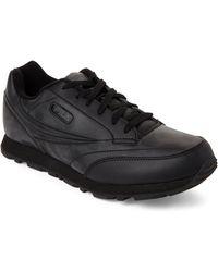 c68c6d34fda3 Fila - Dusty Black Classico 9 Jogger Sneakers - Lyst