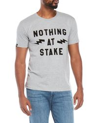 T-post - Nothing At Stake Tee - Lyst