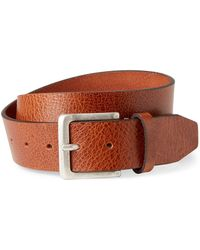 Timberland - Full Grain Leather Belt - Lyst