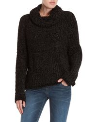 Workshop - Chenille Cowl Turtleneck Sweater - Lyst