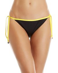 Juicy Couture - Tipped String Bikini Bottom - Lyst