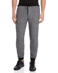 Ocean Current - Sherpa-lined Drawstring Joggers - Lyst