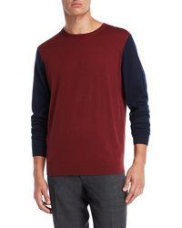Forte - V-neck Silk-blend Sweater - Lyst