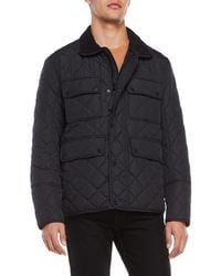 Marc New York - Canal Diamond Quilted Jacket - Lyst
