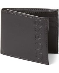 Guess - Tufts Fixed Passcase Wallet - Lyst