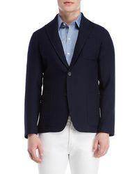 Altea - Alfonso Wool Solid Blazer - Lyst