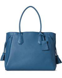 Longchamp - Pilot Blue Pénélope Large Tote - Lyst