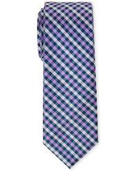 Pierre Cardin - Contrast Pattern Slim Tie - Lyst