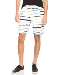 Wesc - Marty Broken Stripe Drawstring Shorts - Lyst