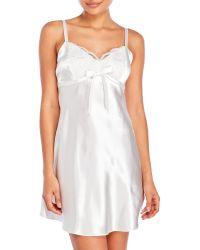 Jones New York - Luxurious Lace Bridal Chemise - Lyst