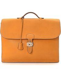 Hermès - Sac A Depeches 41 Briefcase - Vintage - Lyst