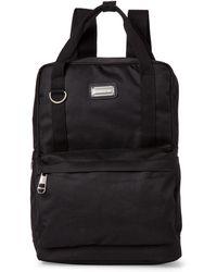 Madden Girl - Black Square Backpack - Lyst