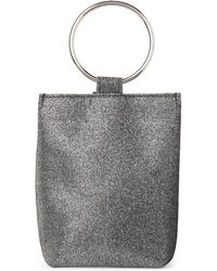 Jessica Mcclintock - Pewter Sparkle Gwen Convertible Clutch - Lyst