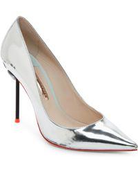 7ee5cc9a1bd Sophia Webster - Silver Coco Flamingo Pointed Toe High Heel Pumps - Lyst