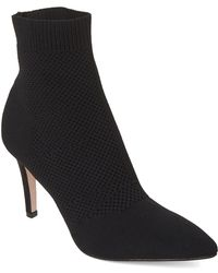 MIA - Black Mckinley Pointed Toe Knit Booties - Lyst