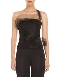 Akris - Netted Trim Top - Lyst
