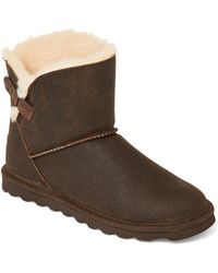 f1bf1fcbf9b Lyst - UGG Sand Real Fur Classic Mini Boots in Natural
