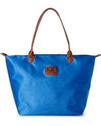 It's The Girl By Junior Drake | Snorkel Blue Sport Tote | Lyst