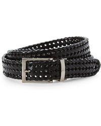 Tommy Bahama - Black Braided Belt - Lyst