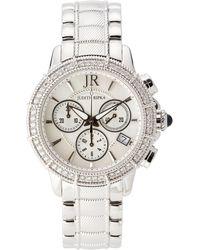 Judith Ripka | 11611 Silver-Tone Watch | Lyst