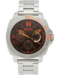 BOSS Orange - 1513299 Silver-Tone Watch - Lyst