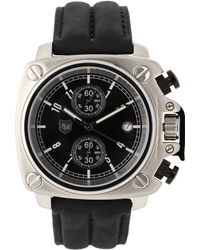 Andrew Marc - A10102Tp Silver-Tone & Black Watch - Lyst