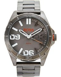 BOSS Orange - 1513289 Grey & Gunmetal Watch - Lyst