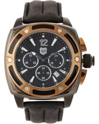 Andrew Marc - A11006Tp Gunmetal Watch - Lyst