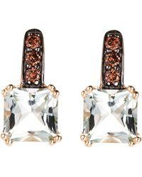Effy - 14K Yellow Gold Diamond Earrings - Lyst