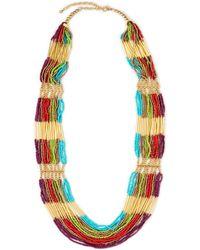 Catherine Stein - Rainbow Beaded Necklace - Lyst