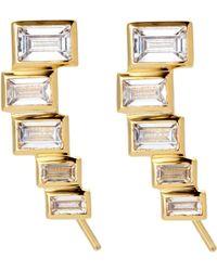 Kacey K - 14K Gold-Plated Earrings - Lyst