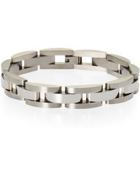 Blackjack - Linked Stainless Steel Bracelet - Lyst