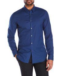 CALVIN KLEIN 205W39NYC - Pointed Collar Sport Shirt - Lyst