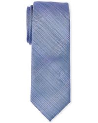 Kenneth Cole Reaction - Text Grid Slim Tie - Lyst