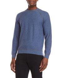 Luciano Barbera - Cashmere Raglan Sleeve Sweater - Lyst