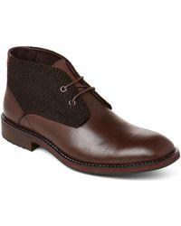 Zanzara - Brown Nebot Leather Chukka Boots - Lyst