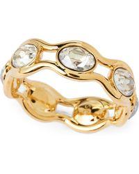 Swarovski - Gold-tone Fragment Ring - Lyst