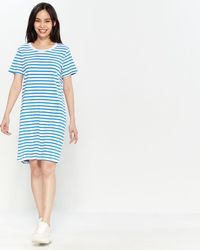 4daa5ffe4b3cf Current/Elliott Striped Tank Maxi Dress - Lyst