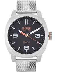 BOSS Orange - 1550013 Silver-tone Cape Town Watch - Lyst