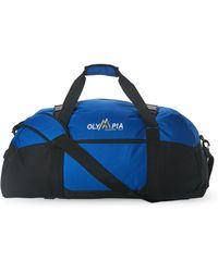 Olympia - Royal Blue Deluxe Multi-Purpose Sports Duffel - Lyst
