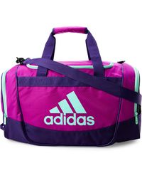 adidas Originals - Purple Defender Ii Small Duffel - Lyst