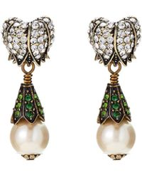 Heidi Daus - Magnificent Maybells Crystal-embellished Drop Earrings - Lyst