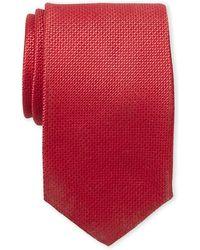 Isaac Mizrahi New York - Textured Silk Tie - Lyst